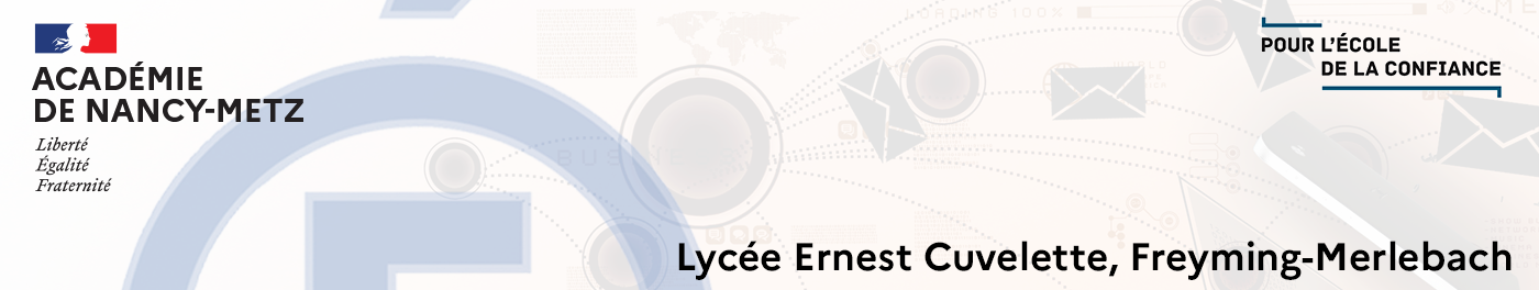 Lycée Professionnel Ernest Cuvelette, Freyming-Merlebach